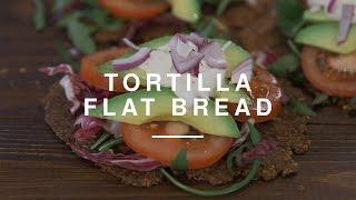 Sundried Tomato Tortilla Flat Bread  Wild Dish