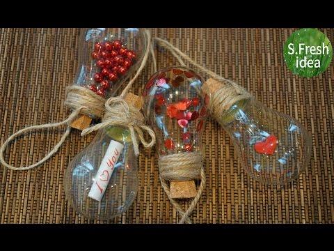 НОВОГОДНИЕ ИГРУШКИ НА ЕЛКУ своими руками. Christmas toys on the Christmas tree with his hahds.