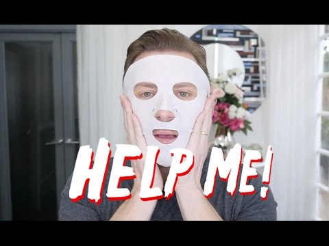 IS THIS THE SCARIEST FACIAL MASK... EVER?