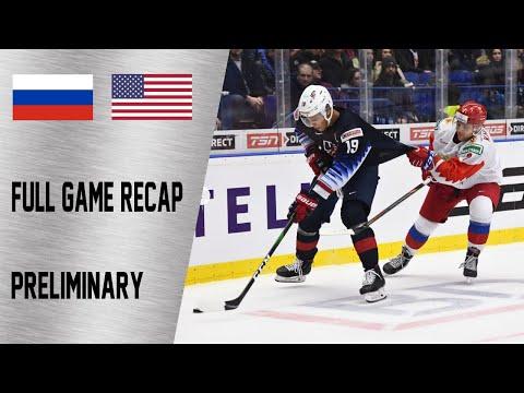 USA vs Russia Full Game Highlights   December 29, WJC 2020