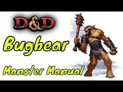 D&D (5e): Monster Manual, Bugbear