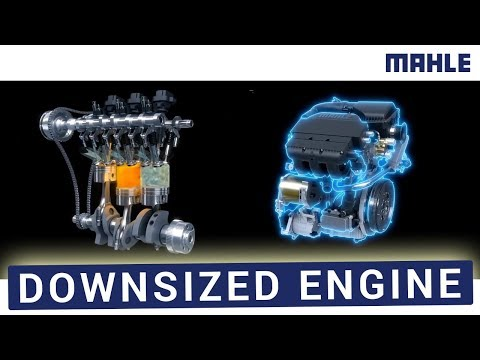 MAHLE Downsized Engine: 3D Animation
