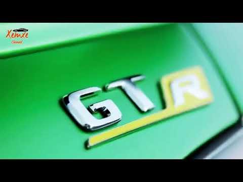 Mercedes-Benz GTR AMG 2018 xanh lá mạnh mẽ - Xem Xe Channel