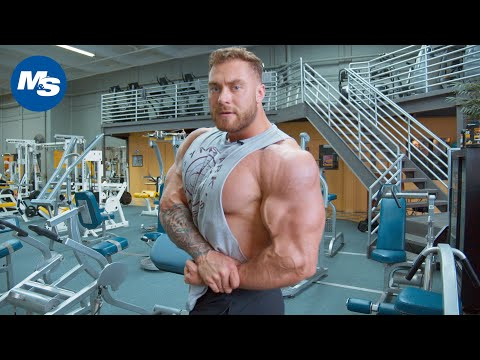 Chris Bumstead's Chest Workout | Cbum's Joocy Chest Day