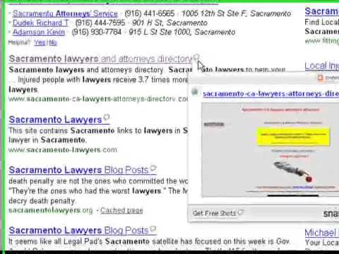 Sacramento lawyers - Search Engine Optimization - SEO Internet Advertising