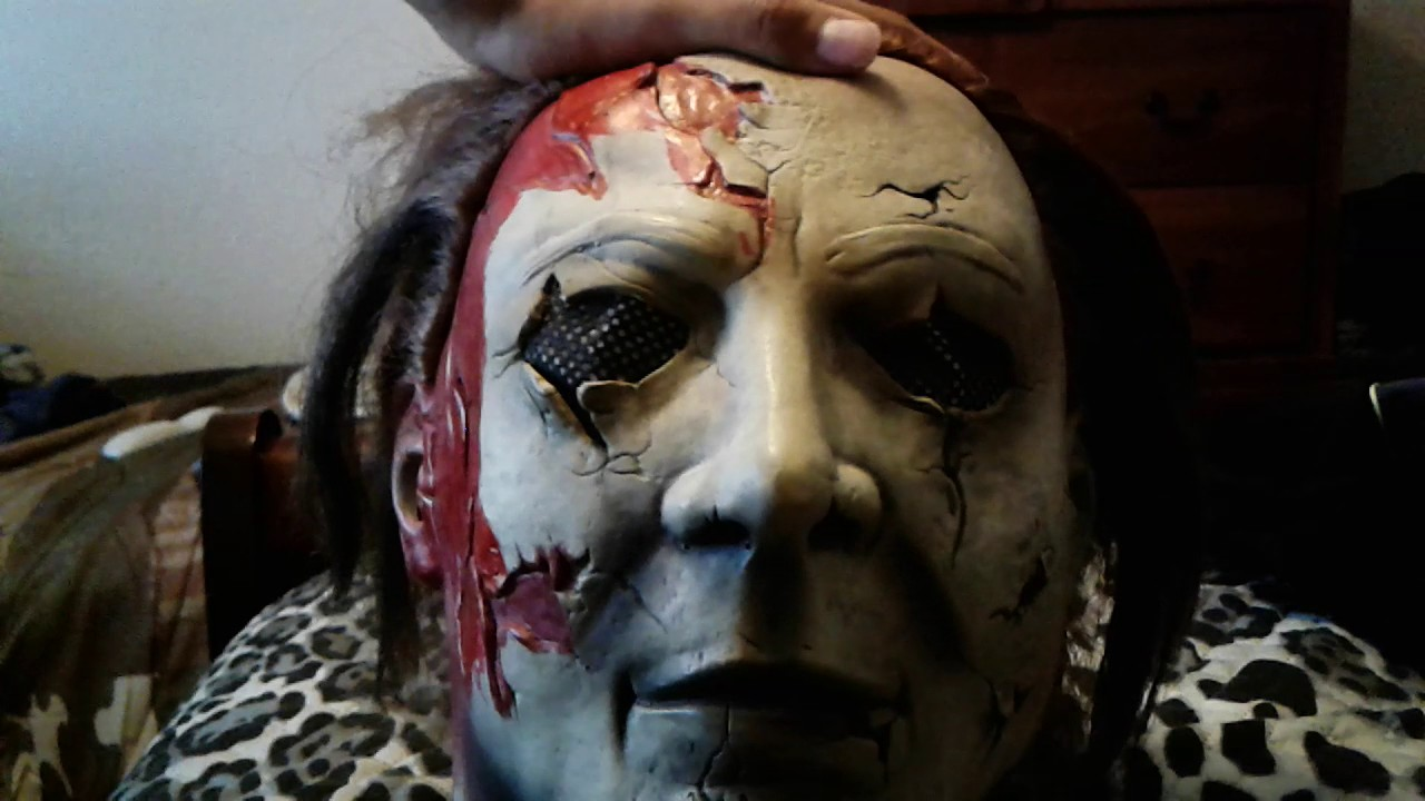 Halloween 2 Rob Zombie Mask.Rob Zombie Halloween 2 Michael Myers Mask Review