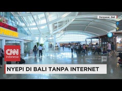 Nyepi di Bali Tanpa Internet