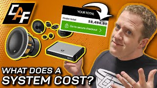 Pricing Out YOUR Car Audio System - The process!