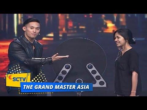 FANTASTIC! Tangan Nadzri Menembus Cermin   The Grand Master Asia