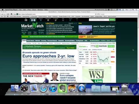 Stock Market Game MarketWatch tutorial   YouTube 720p