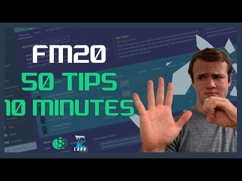 50 Football Manager 2020 Tips and Tricks in 10 Minutes