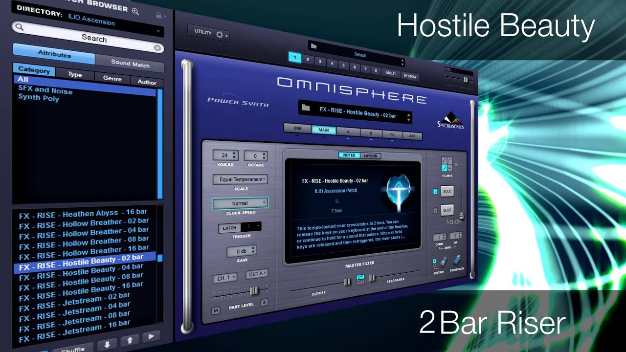 ILIO Download Products : Ascension (Patches for Omnisphere)