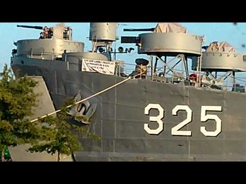 WWII Ship Visits Decatur, AL