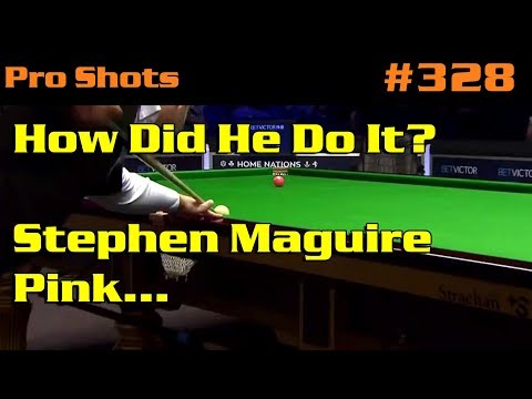How Did He Do It? Stephen Maguire Pink…