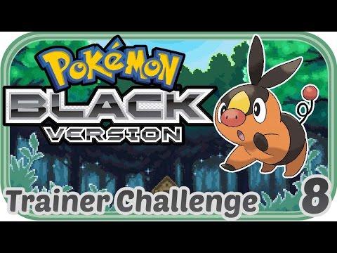 Schlägerei im Kindergarten - Pokemon Schwarz Trainer Challenge #008 Deutsch - Chigocraft