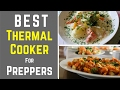Best Thermal Cooker And The Best Way to Cook without Fire | Portable Slow Cooker For Preppers