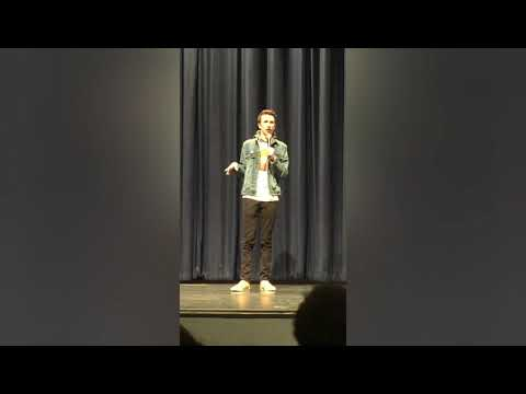 Teenage comedian destroys heckler and crowd loses it! (2:20)