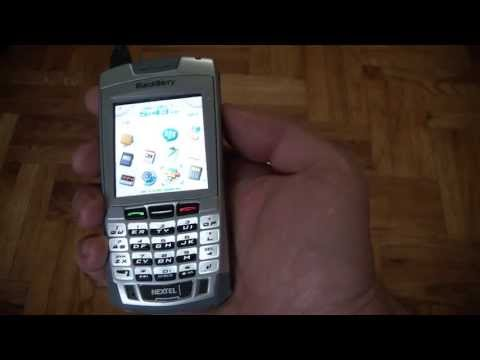 blackberry 7100i video clips rh phonearena com BlackBerry Push to Talk Icon BlackBerry Sprint Walkie Talkie