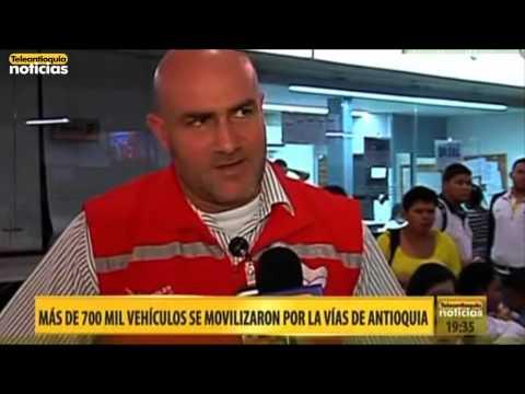 Teleantioquia Noticias en directo desde la Terminal de Transportes del Norte