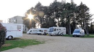 Wohnmobil-Stellplatz Montelimar-Frankreich thumbnail