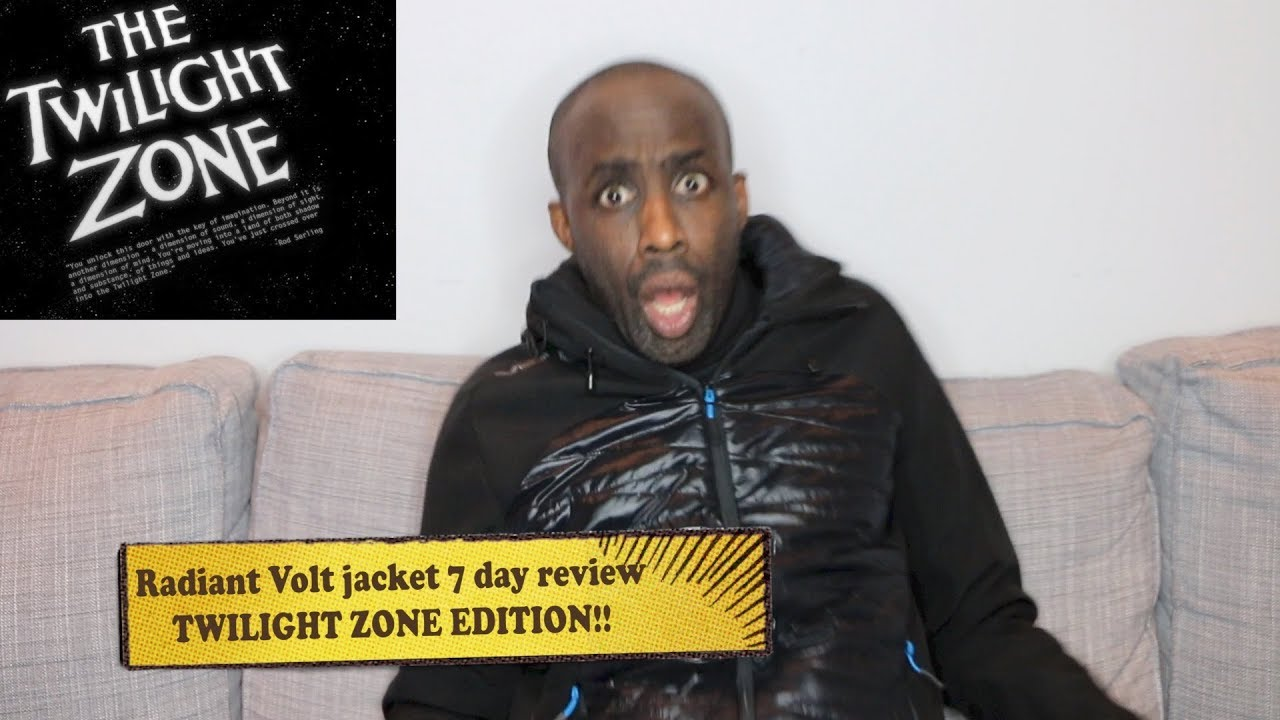 dcbca59f1a0 RADIANT VOLT heated jacket- 7 day review -twilight zone edition-HERVE s  WORLD- episode 124