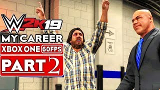 WWE 2K19 My Career Mode Gameplay Walkthrough Part 2 [1080p HD 60FPS Xbox One] - No Commentary