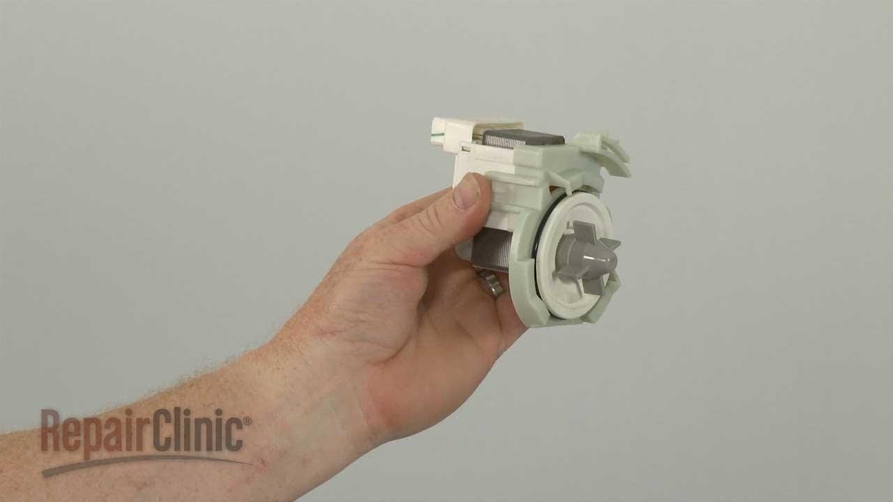 Whirlpool Dishwasher Won T Drain Replace Drain Pump W10348269 Youtube