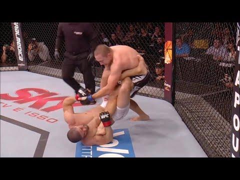 Все финиши хилхуком в истории UFC