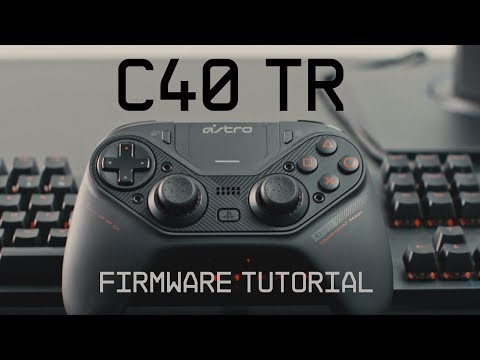 C40 TR Controller Firmware Update Guide || ASTRO Gaming