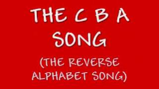 Learn the Alphabet BACKWARDS: The CBA Song