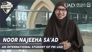 A life story of Najeehah: An International Student of English Education Department UAD