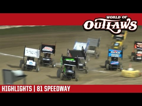 World of Outlaws Craftsman Sprint Cars 81 Speedway May 6, 2017 | HIGHLIGHTS
