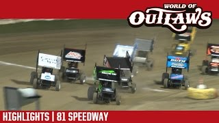 World of Outlaws Sprint Cars | 81 Speedway 5/6/17
