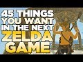 45 Things YOU Want in the New Zelda Game | Austin John Plays