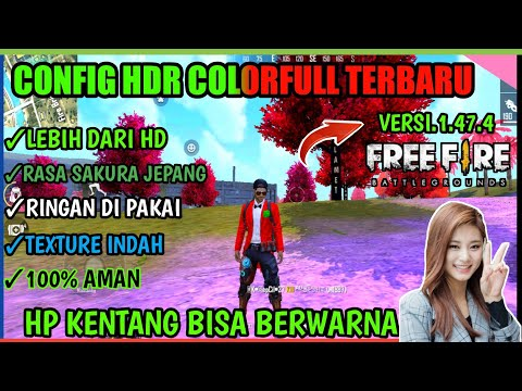 CONFIG COLORFULL UPDATE !!! Fix Lag FF Colorfull -- CARA MENGATASI FREE FIRE LAG DI RAM 1GB-3GB - 동영상