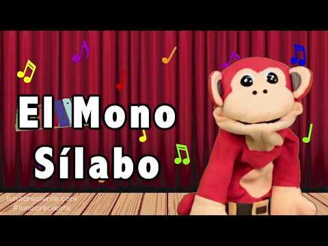 Sílabas xa xe xi xo xu - El Mono Sílabo - Videos Infantiles - Educación para Niños #