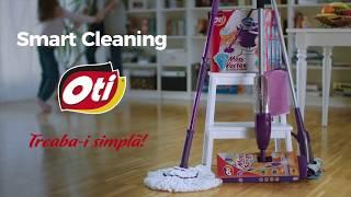 Microfibra pentru Megacuratenie - Smart Cleaning de la Oti!