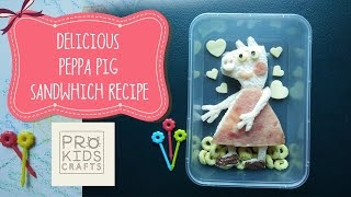 Peppa Pig Snack Ideas   Yummy and Simple Bento Recipe