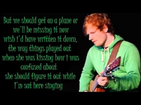 Ed Sheeran Dont Lyrics Dirty