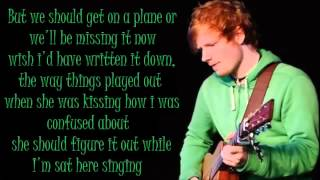 Ed Sheeran Don't Lyrics Dirty