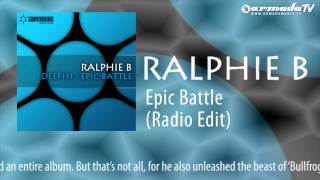 Ralphie B - Epic Battle (Radio Edit)