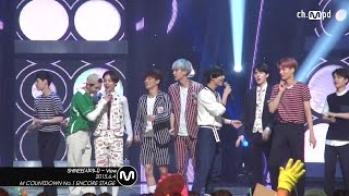[Fancam/MPD직캠] 150604 ch.MPD SHINee(샤이니) - View(with EXO) / fu...