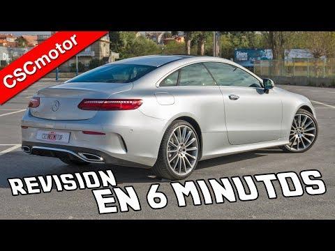 Mercedes-Benz Clase E Coupé - 2018 | Revisión rápida