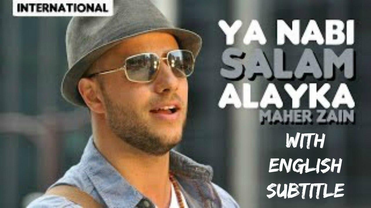 Maher Zain Ya Nabi Salam Alayka lyrics - YouTube