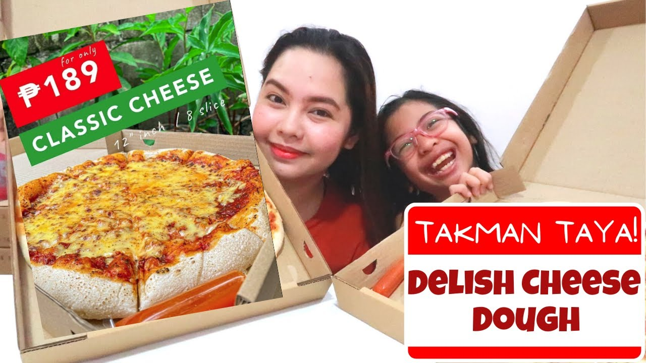 Delish Cheese Dough Food Review - Takman Taya! (Vlog #1) | Nowie Mac