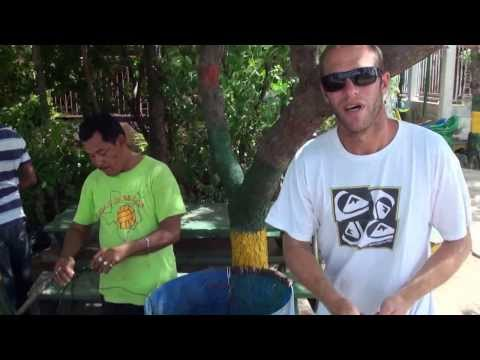 Interview made ​​in Nicaragua with chef Andrew Johnson