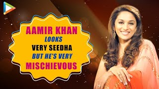 Madhuri Dixit REVEALS the easiest way to WIN Shah Rukh Khan's heart & PISS Salman Khan OFF