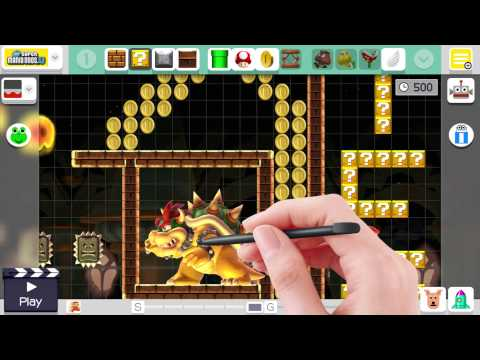 Super Mario Maker Gameplay Review (Wii U)