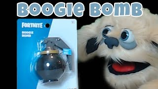 Unboxing Fortnite Toys: Boogie Bomb in Real Life by Spirit Halloween Dexter Monster Reviews