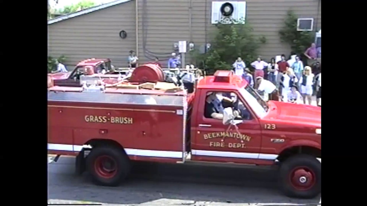 West Chazy Parade  6-18-95